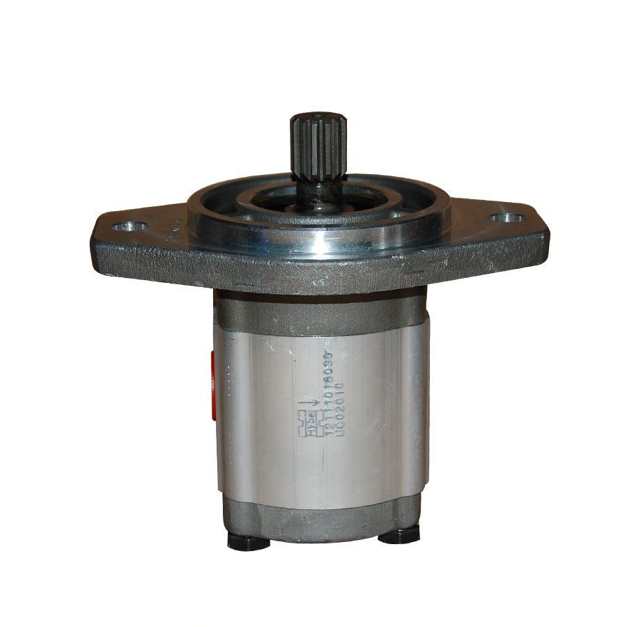 Bomba Hidráulica de Alumínio 16 Litros Flange SAE B 2 Furos Anti-Horário Hybel 12111016030