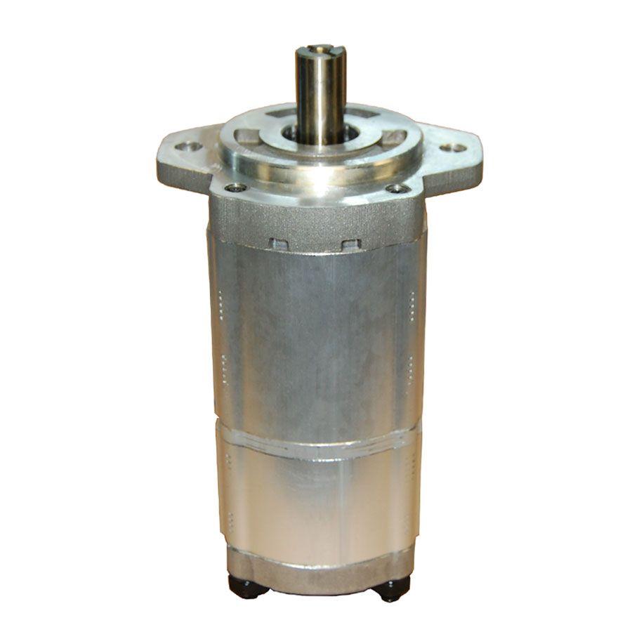 Bomba Hidráulica Dupla de Alumínio 33+8 Cm³ Horaria Hybel 12102033136