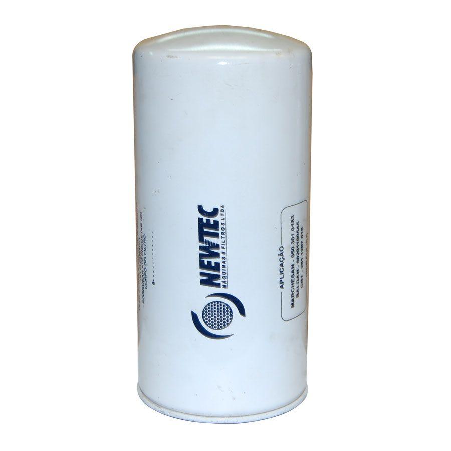 Elemento Blindado Filtrante Hidráulico Newtec Br8010ph