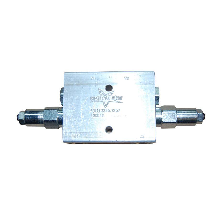 Válvula Hidráulica Control Star Contrabalanço Dupla 200047