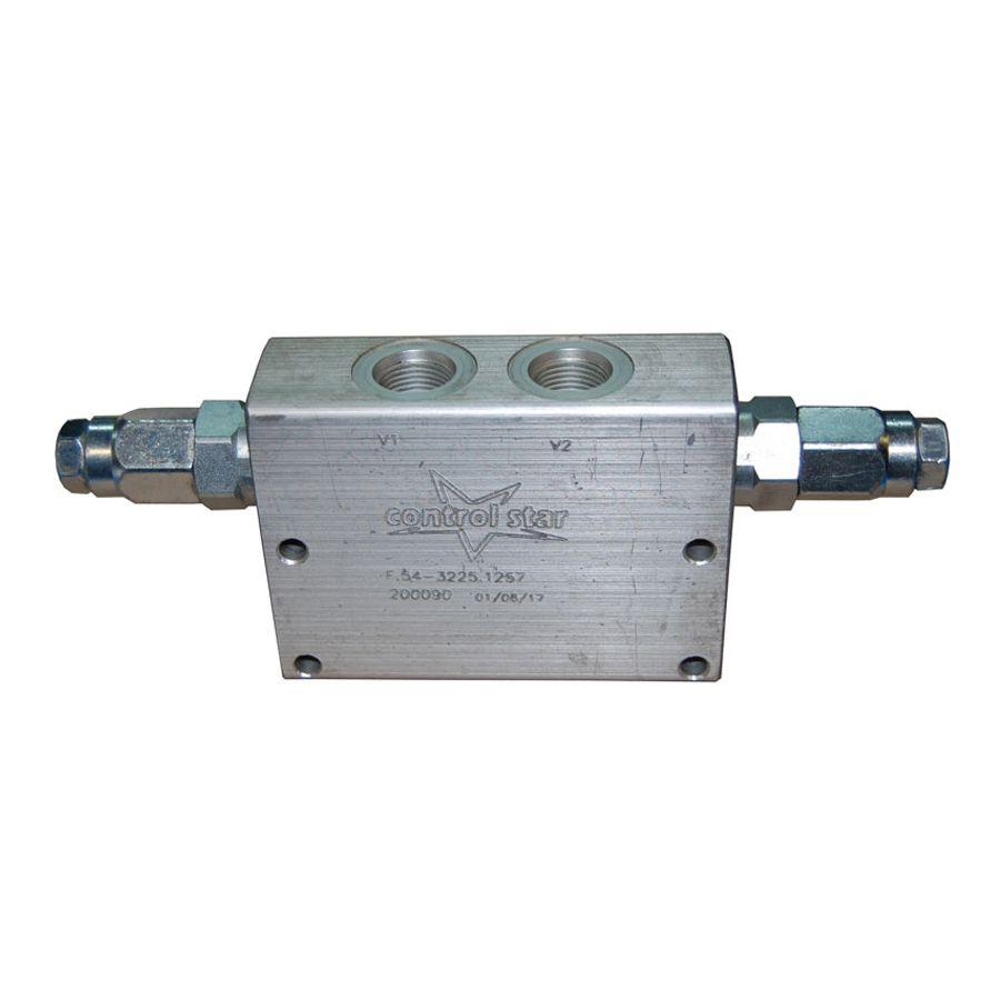 Válvula Hidráulica Control Star Contrabalanço Dupla 200090