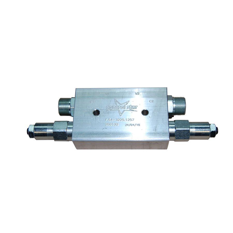 Válvula Hidráulica Control Star Contrabalanço Dupla 200132