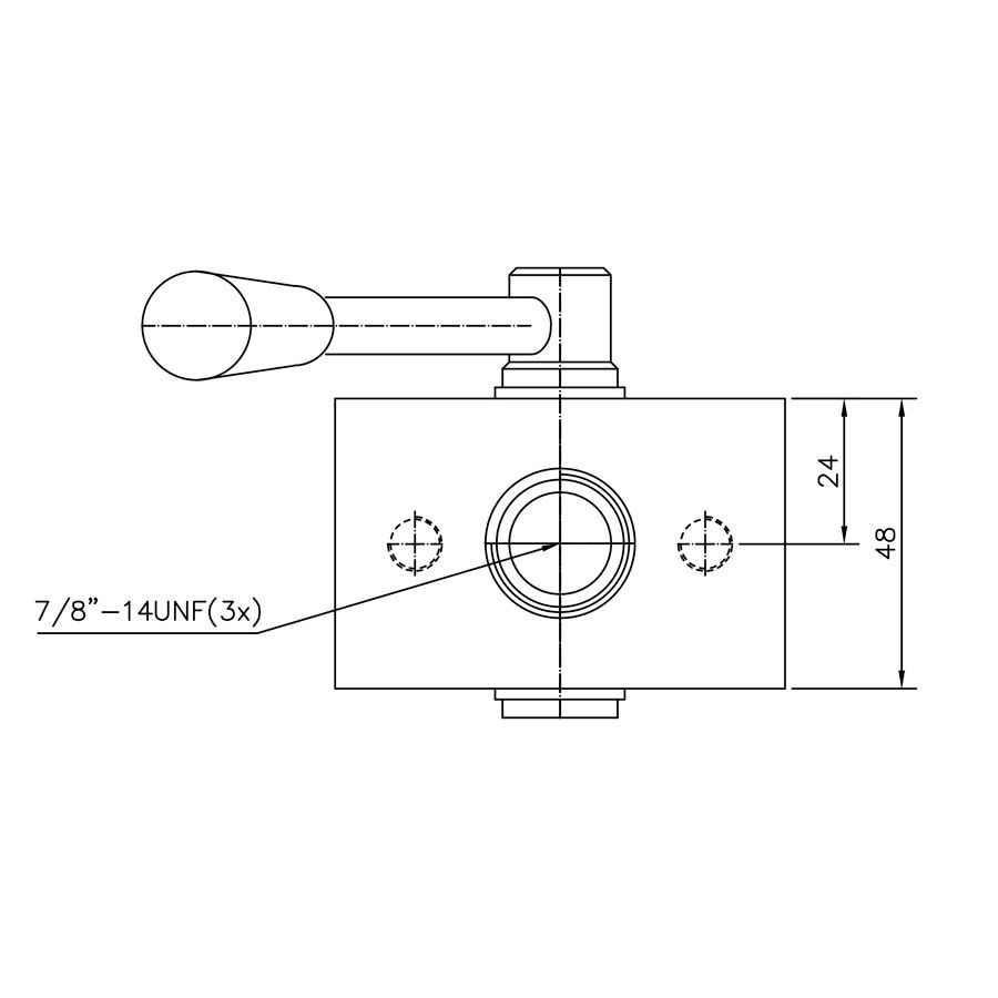 Válvula Hidráulica Control Star Seletora 200003