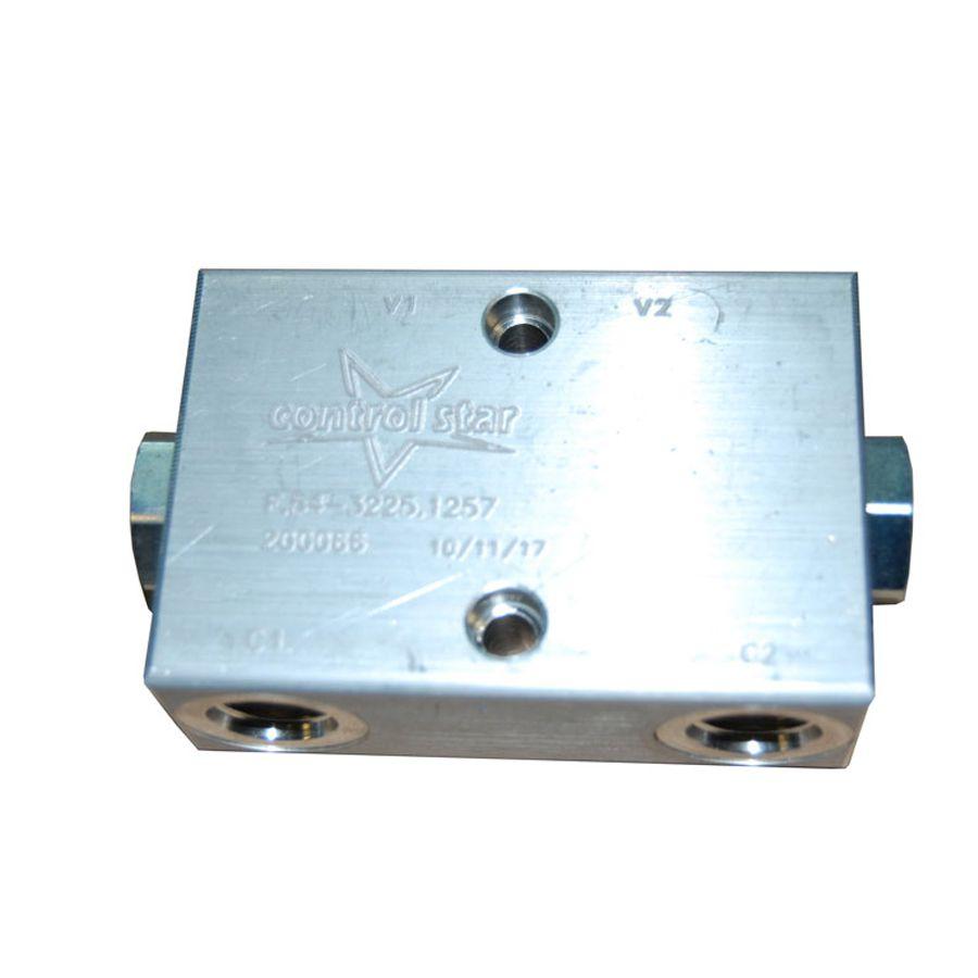 Válvula Hidráulica Retenção Pilotada Dupla Control Star 200066-A
