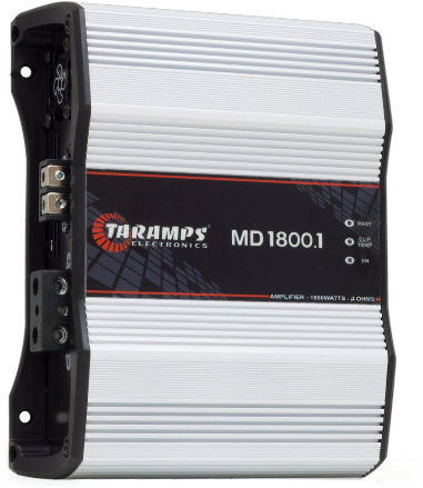 Amplificador P/Auto 01 Canal Taramps MD-1800.1