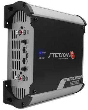 Amplificador Stetsom HL-1200.4 - 4 Canais