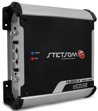 Amplificador Stetsom HL-800.4 - 4 Canais