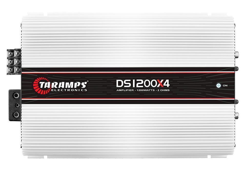 Amplificador P/Auto 04 Canais Taramps DS-1200X4