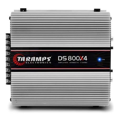 Amplificador Taramps DS-800x4 - 4 Canais