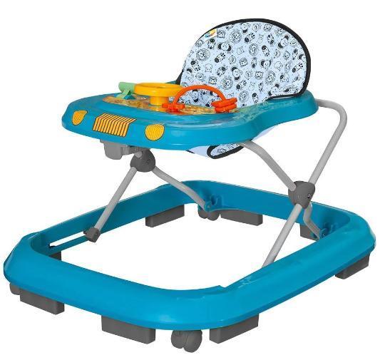 Andador P/Bebe Tutti Baby Safari 02003.32 (azul)