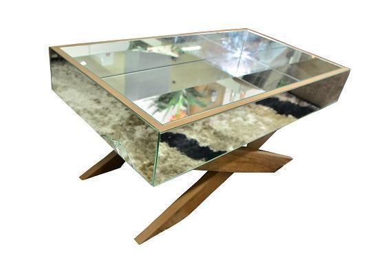 Mesa de Centro JB Bechara Luxo 4023 (canela madeira)