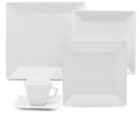 Aparelho de Jantar/Cha 30 PCS Oxford Quartier White GT30-2000-1-9 (branco)