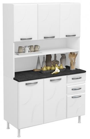 Armário De Cozinha Telasul Safira 805228-01