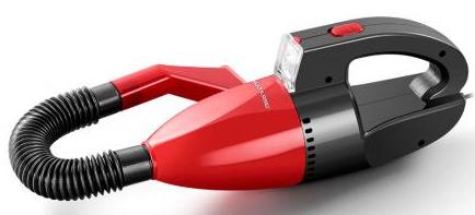 Aspirador de PO Automotivo Multilaser AU607 (preto vermelho)