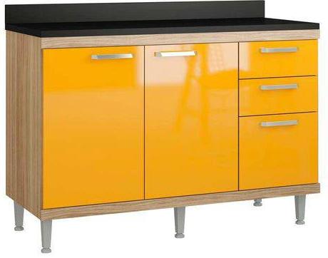 Balcao Multimoveis 5118 (argila fosco/texturizado amarelo)