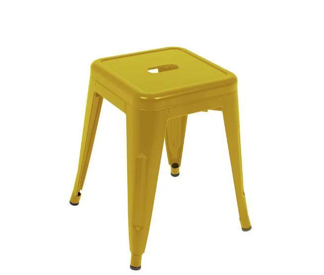 Banqueta Industrial Mor Small 009421 (amarelo)