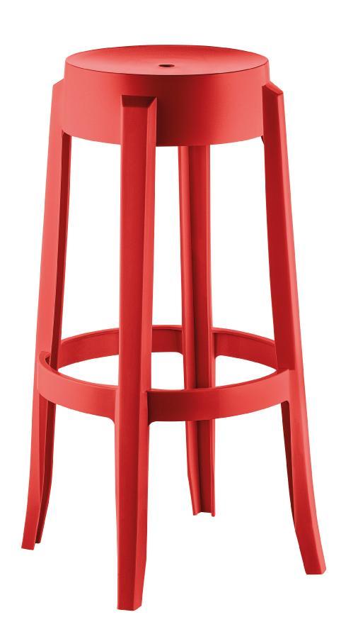 Banqueta Kappesberg Shine UZ8007-13 (vermelho)