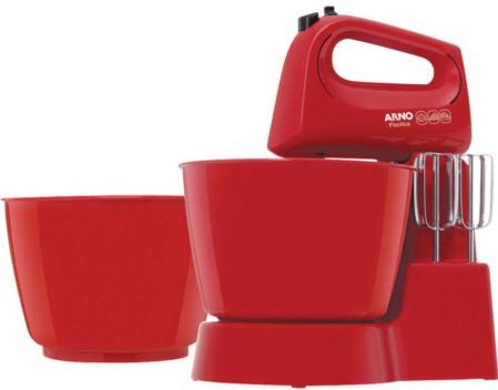 Batedeira 03 Velocidades Arno Facilita SX25 SX151GB1 (vermelho)