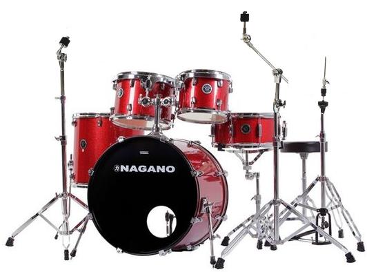 Bateria Musical Tagima Nagano Garage Fusion 20 (vermelho-ws)