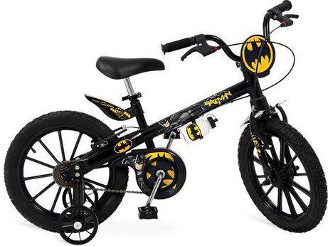 Bicicleta Infanto-Juvenil Aro 16 Bandeirante Batman 2363 (preto)