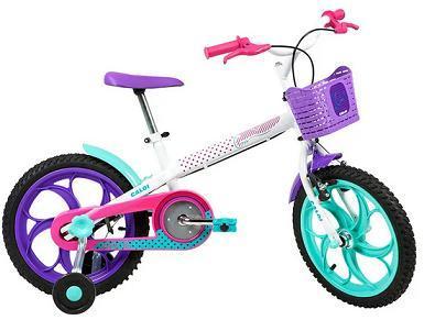 Bicicleta Infanto-Juvenil Aro 16 Feminina Caloi Ceci (branco)