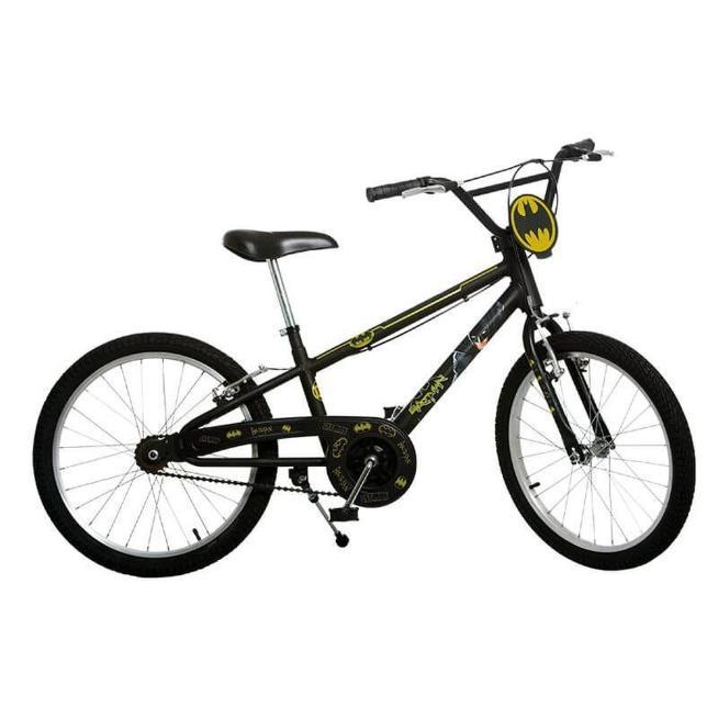 Bicicleta Infanto-Juvenil Aro 20 Masc. Bandeirantes Batman 3200 (preto)