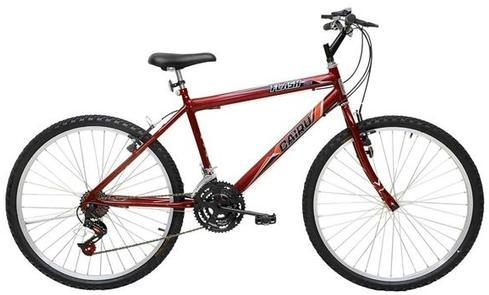 Bicicleta Infanto-Juvenil Aro 20 Masc. Cairu Flash 319024 (21 marchas/vermelho)