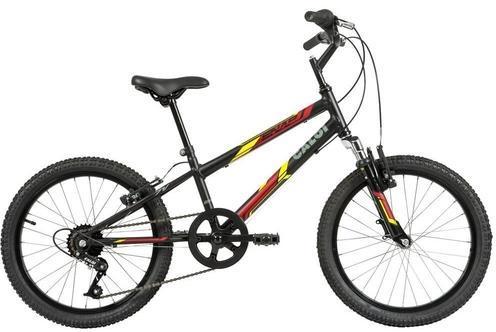 Bicicleta Infanto-Juvenil Aro 20 Masc. Caloi Snap (preto)