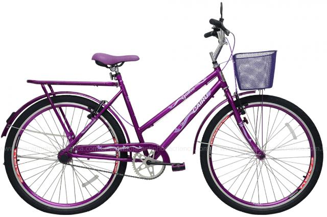 Bicicleta Infanto-Juvenil Aro 24 Cairu Genova 310117 (violeta)