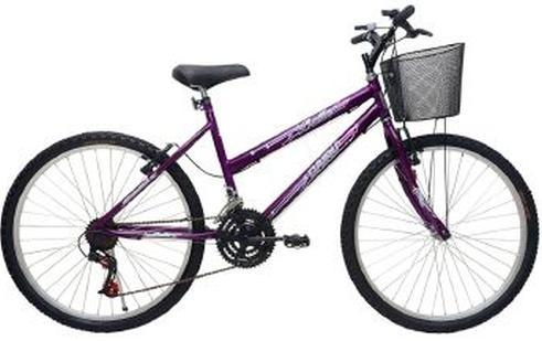Bicicleta Mountain Bike 26 Cairu Bella 310920 (violeta)