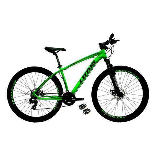 Bicicleta Mountain Bike Aluminio Aro 29 Cairu Lotus 317321 (verde/preto)