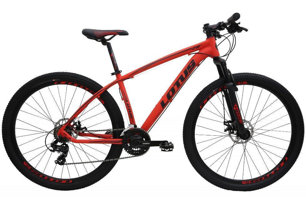 Bicicleta Mountain Bike ALumínio Aro 29 Cairu Lotus 318560 (vermelho/preto)