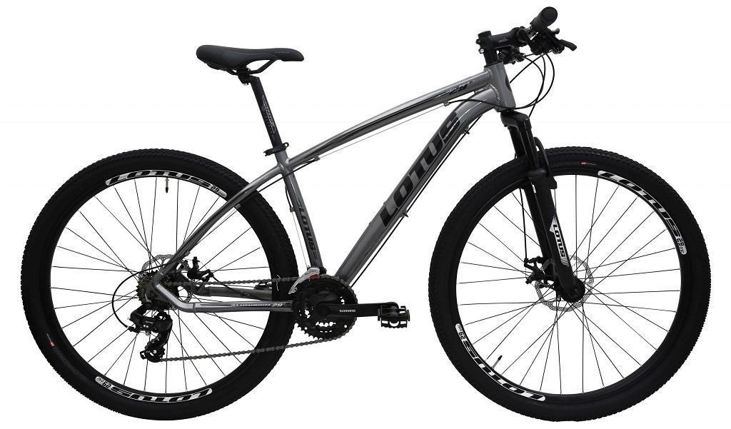 Bicicleta Mountain Bike Alumínio Aro 29 Cairu Lotus 318563 (cinza/preto)