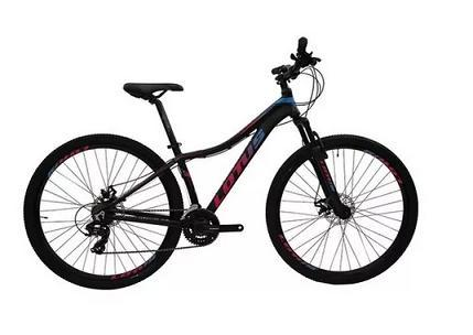 Bicicleta Mountain Bike Alumínio Aro 29 Cairu Lotus Angel 317344 (preto/rosa)
