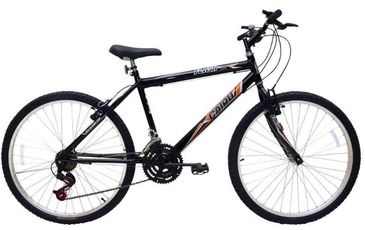 Bicicleta Mountain Bike Aro 26 Cairu Flash Bike 310919 (preto)