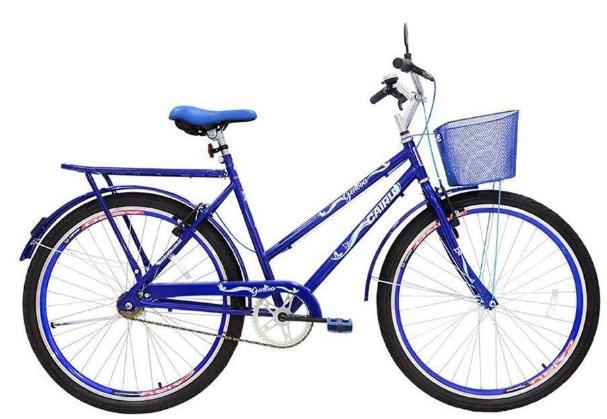 Bicicleta Transporte Aro 26 Cairu Geovana 310118 (azul)