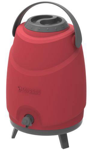 Botijao Termico 12L Soprano Estacionario Aspen 09000.0018.17 (vermelho)