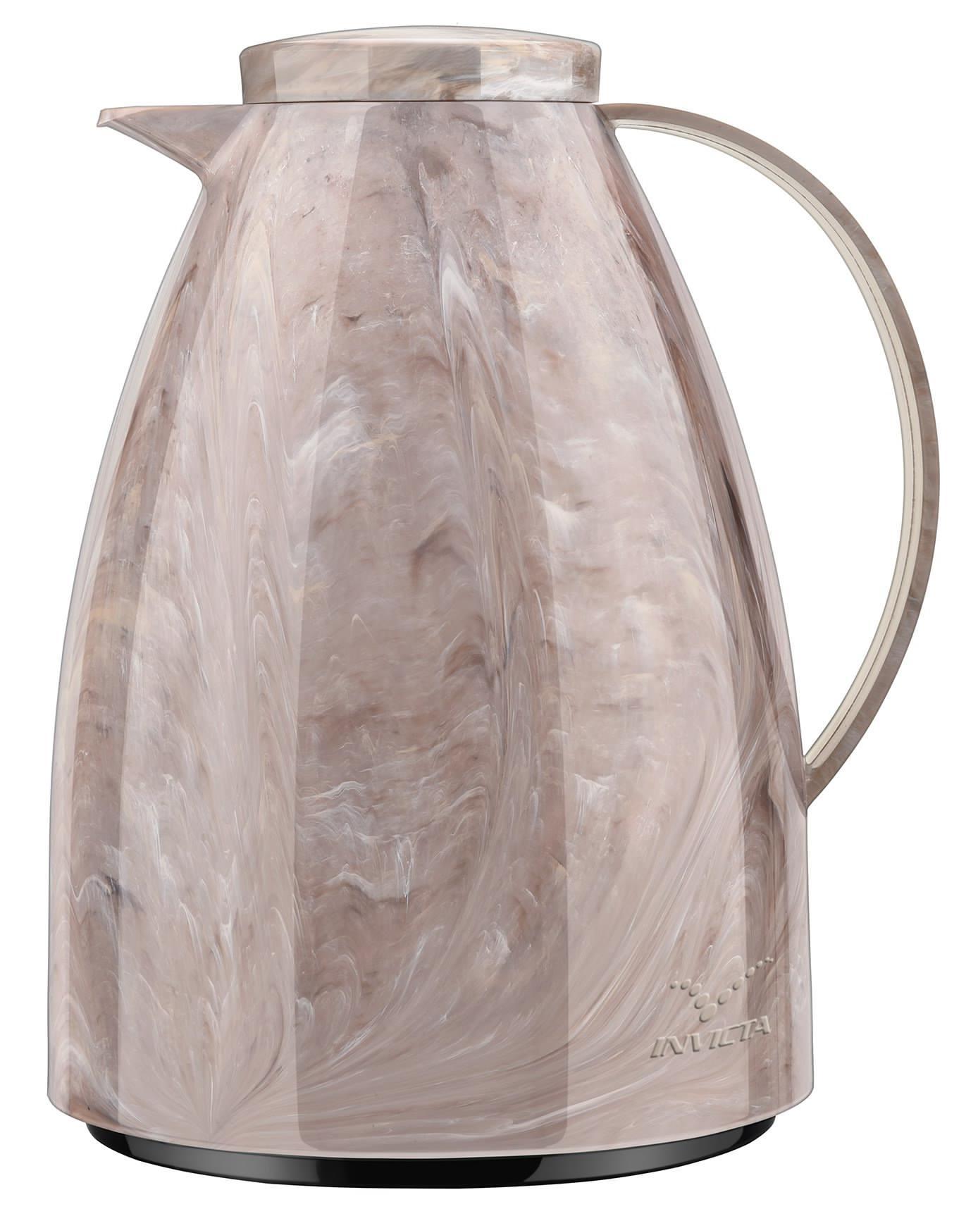 Bule Termico de Rolha 750ML Invicta Viena Marble Collection 100396511914 (marrom-jasper)
