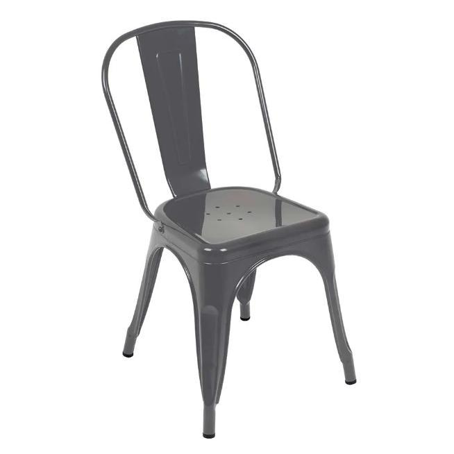 Cadeira Industrial Mor 009451 (cinza)