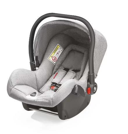 Cadeira P/Auto Multikids Baby Heritage BB567 (cinza)