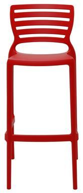 Cadeira Plástica Alta Tramontina Sofia HZ 92137/040 (vermelho)