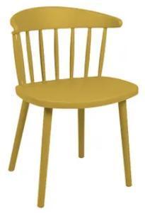 Cadeira Plastica Mor Dona Francisca (amarelo curry)