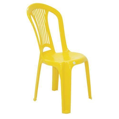 Cadeira Plástica Tramontina Atlantida Economy 92013/000 (amarelo)