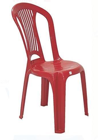 Cadeira plastica Tramontina Atlantida Economy 92013/040 (vermelho)