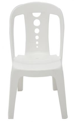 Cadeira Plastica Tramontina Jatiuca 92021/010 (branco)