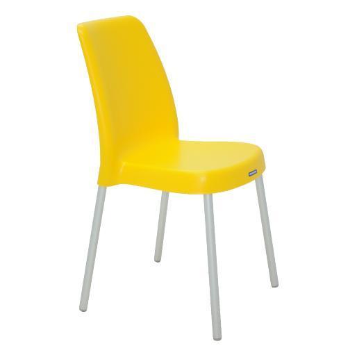 Cadeira Plástica Tramontina Vanda 92053/900 (amarelo)