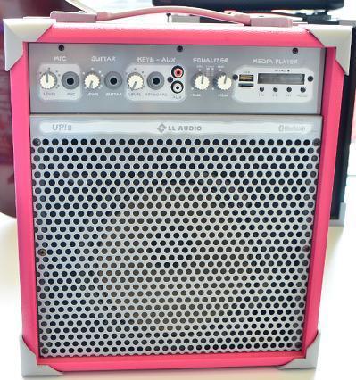 Caixa Amplificada LL Áudio UP8 (55W RMS) (Rosa)