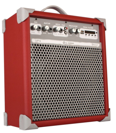 Caixa Amplificada LL Audio UP8 (55W RMS) (Vermelho)