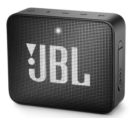 Caixa de Som JBL GO2 - 3W RMS Preto
