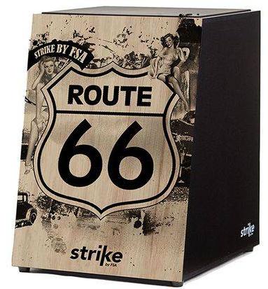 Cajon Acustico FSA Strike SK-4010 (route 66)